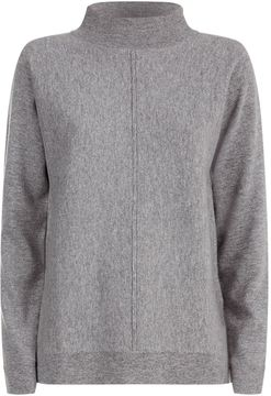 Allude Cashmere Mock Neck Sweater