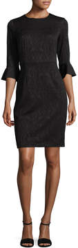 Donna Morgan Women's Embroidered Sheath Dress