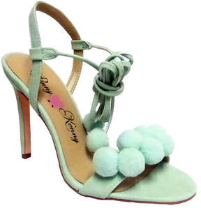 Penny Loves Kenny Women's Darling Pom Pom Sandal