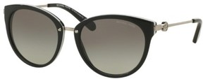Michael Kors MK6040 ABELA III Sunglasses BLACK/WHITE/Grey Gradient (312911) 55/19-140