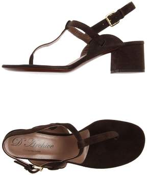L'Autre Chose Toe strap sandals