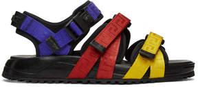 Versace Multicolor Strap Sandals