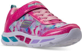 Skechers Little Girls' Preschool S Lights: Litebeams Athletic Sneakers from Finish Line