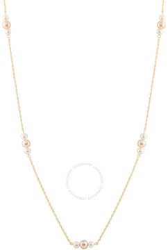 Bella Pearl 10K Gold Floating Pearl Necklace