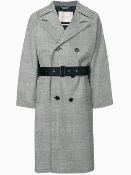MACKINTOSH Glen checked trench coat