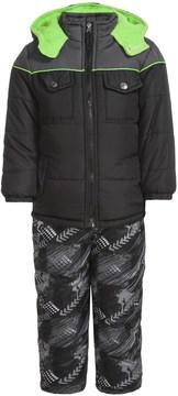 iXtreme Color-Block Arrow Print Snowsuit - Insulated (For Little Boys)