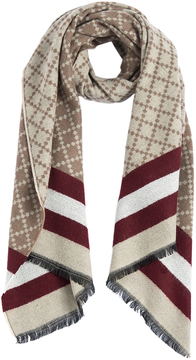 Shiraleah Beige Andy Scarf