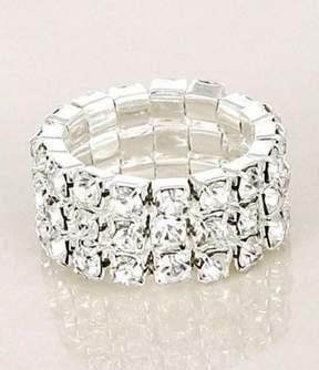 Cezanne Crystal Stretch Ring