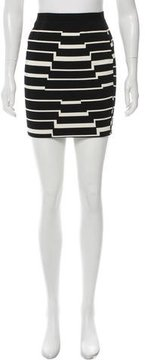 Band Of Outsiders Patterned Bodycon Skirt