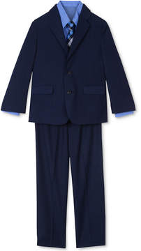 Nautica 4-Pc. Suit Jacket, Pants, Shirt & Plaid Tie Set, Little Boys (4-7)