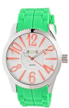 Crayo Magnificent Collection CRACR2904 Women's Watch with Silicone Strap