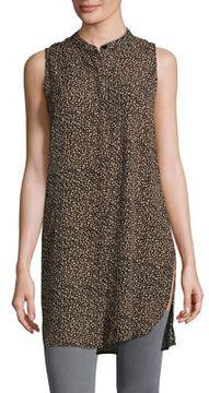 Context Printed Mockneck Dress