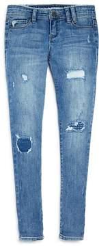 Blank NYC BLANKNYC Girls' Cloud Nine Distressed Girlfriend Jeans - Big Kid