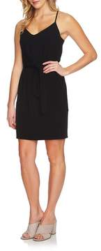 1 STATE 1.STATE Tie Front Racerback Dress