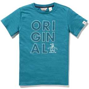 Original Penguin Boys Geo Print Tee