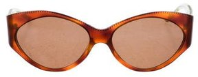Judith Leiber Tortoiseshell Tinted Sunglasses