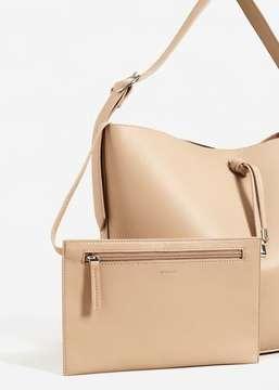 MANGO Cosmetic bag shopper bag