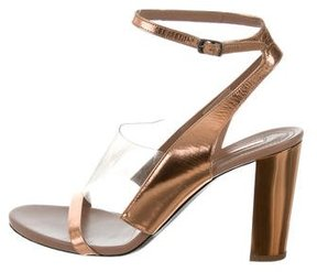 Dries Van Noten Metallic PVC Sandals