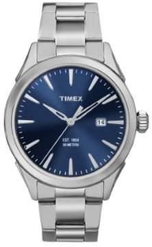 Timex Men's Chesapeake TW2P96800 Silver Stainless-Steel Quartz Fashion Watch