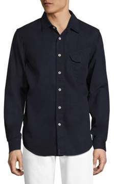 Joe's Jeans Button-Front Solid Shirt