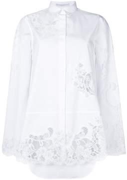 Ermanno Scervino lace panels shirt