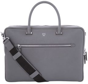 MCM Grained Leather Briefcase