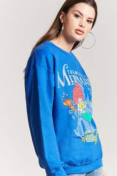 Forever 21 The Little Mermaid Pullover