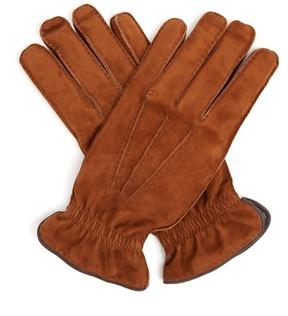 Brunello Cucinelli Suede gloves