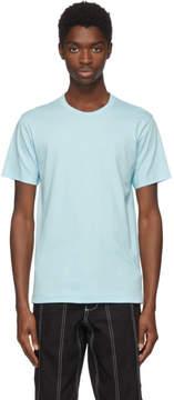 Comme des Garcons Blue Logo Jersey T-Shirt