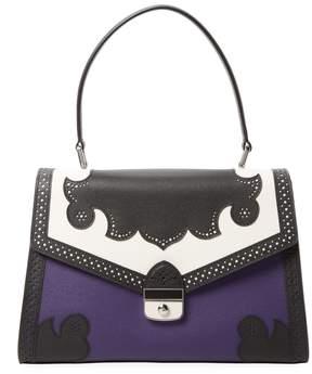 Longchamp Women's Lasercut Leather Satchel - MULTI - STYLE