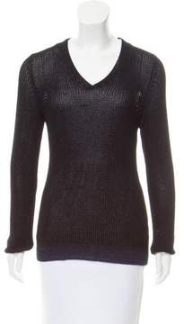 Strenesse Long Sleeve Open Knit Sweater