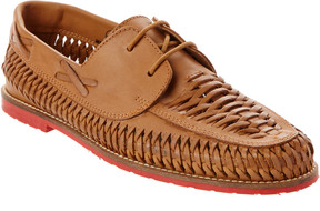 Dune London Brighton Rock Leather Loafer