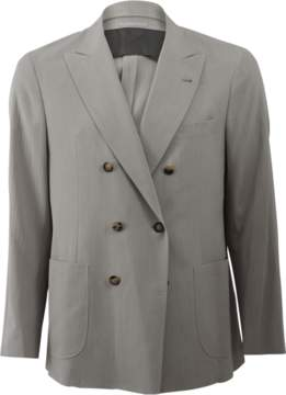 Brunello Cucinelli Double Breasted Suit Jacket