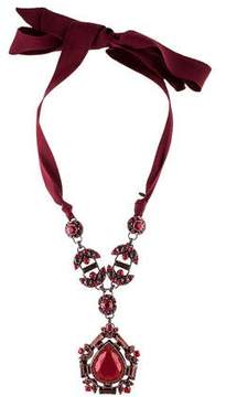 Lanvin Crystal Babylon Necklace
