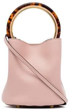 Marni Pink Pannier leather bucket bag