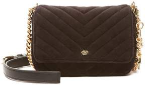 Juicy Couture Fairmont Fairytale Lil J Velour Crossbody