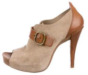 Pedro Garcia Chick Peep-Toe Booties