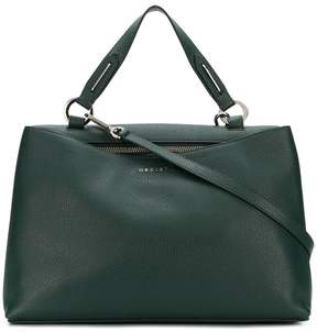 Orciani pebbled tote bag