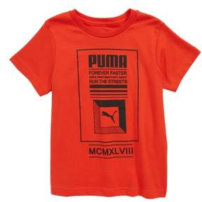 Puma Forever Faster Screenprint T-Shirt