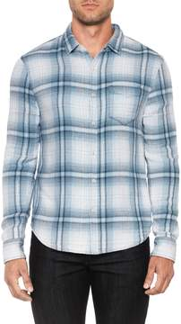 Joe's Jeans Men's Plaid Slim Fit Sportshirt