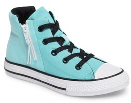 Converse Boy's Chuck Taylor All Star Sport Zip High Top Sneaker