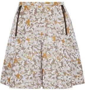 Belstaff Jacquard Cotton-Blend Mini Skirt