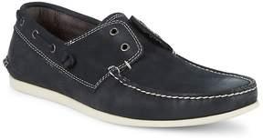John Varvatos Men's Star-S Leather Boat Shoes