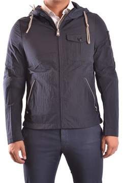 Dekker Men's Blue Polyamide Outerwear Jacket.