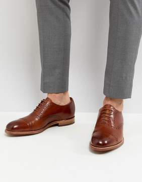 Grenson Matthew Brogue Toe Cap Shoes