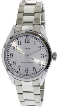 Timex Briarwood Terrace TW2P99800 Silver Stainless-Steel Analog Quartz Dress Watch