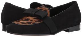 Etro Leopard Loafer Women's Slip on Shoes