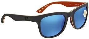 Costa del Mar Copra Blue Mirror 580P Square Sunglasses COP 102 OBMP
