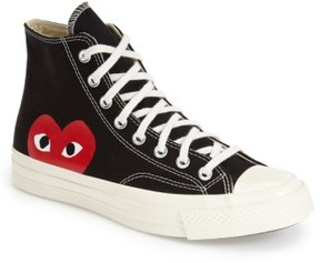 Comme des Garcons Men's X Converse Chuck Taylor - Hidden Heart High Top Sneaker