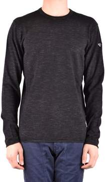 Armani Jeans Men's Black Viscose Sweater.